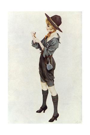 Girl Scout, Kirchner 1914