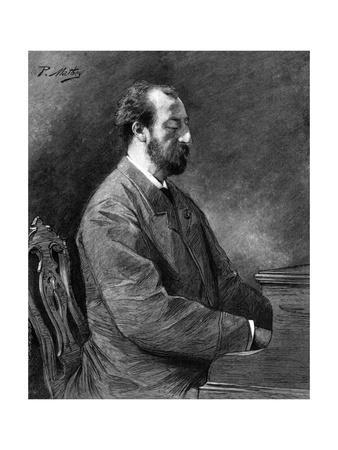 Camille Saint-Saens, French Musician and Composer