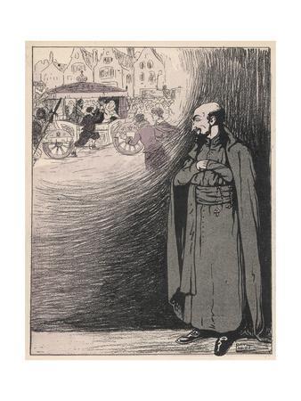 Loyola Caricatured