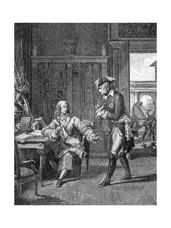 Voltaire and Friedrich Gt.
