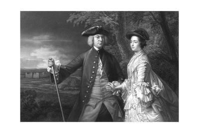 2nd Earl Egmont and Wife