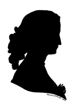 Empress Eugenie in Silhouette