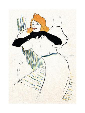 Yvette Guilbert, Lautrec