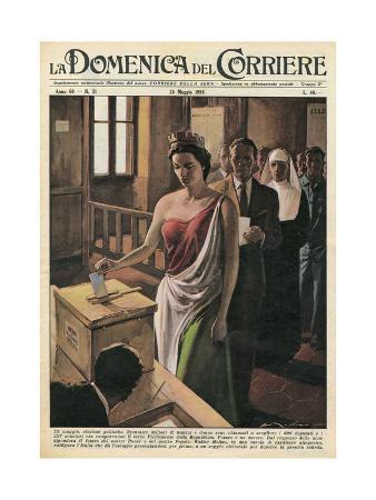 Italia Casts Her Votes, 1958