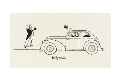 Etiquette, Hat Tipping