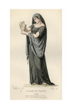 Pompey's Widow Mourns