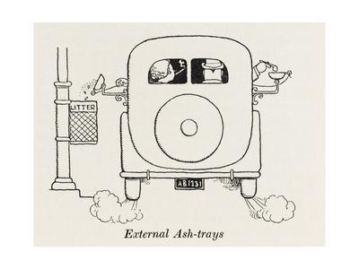 External Car Ashtrays