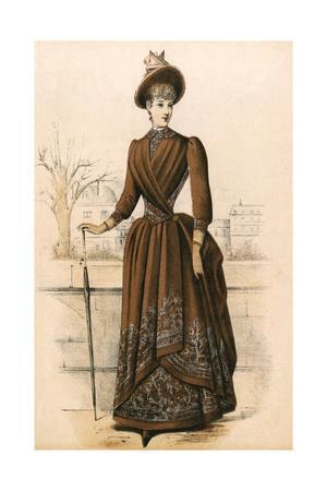 Paisley Costume 1888