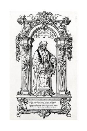 Erasmus, Holbein, Gillot