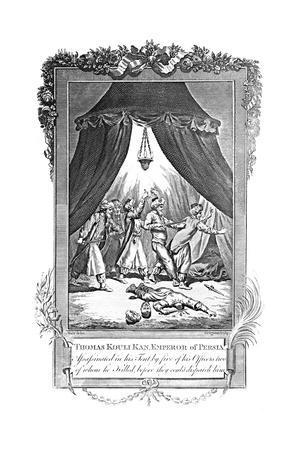 Assassination of Thomas Kouli Kan, Emperor of Persia