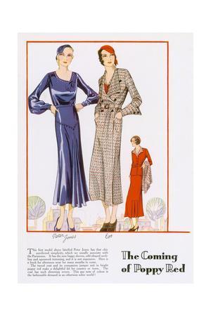 Poppy Red for 1932