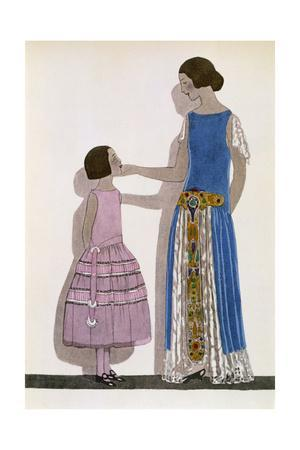 Mother and Daughter 1913
