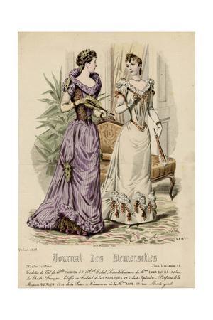 Ball Dress 1891