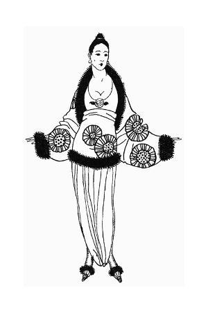 Floral Top and Jacket 1918
