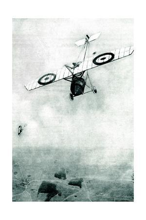 WW1 - Aerial Combat - over Mametz Wood, France
