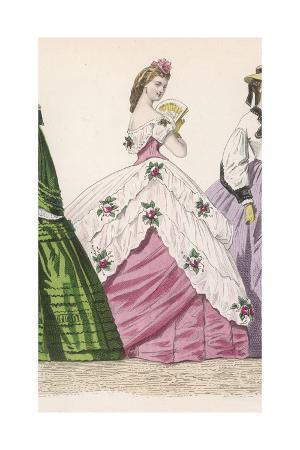Evening Dress 1860S