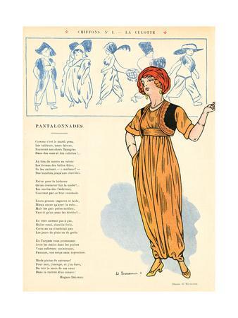 Turkish Trousers 1911