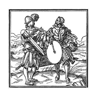 Military Musicians - Fife and Drum