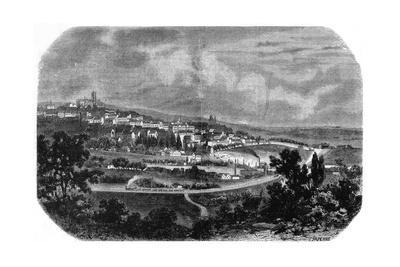 View of Le Mans, Tirpenne