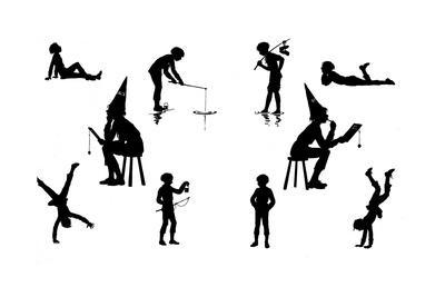 Dunderpate in Various Poses