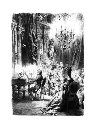 Mozart Performs for Kaiser Josef II C.1780