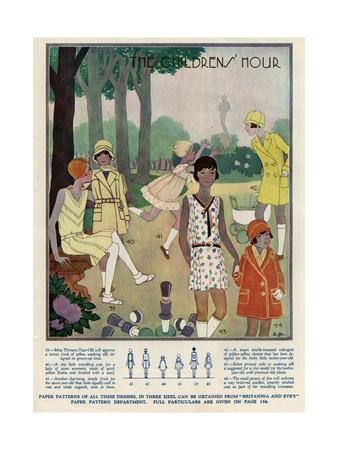 Girls Fashions 1929