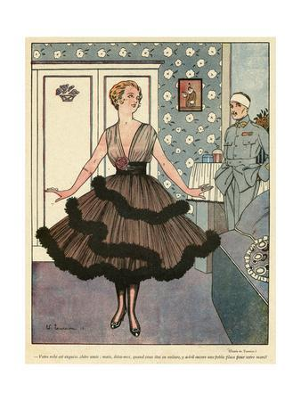 Wide Skirts of 1916