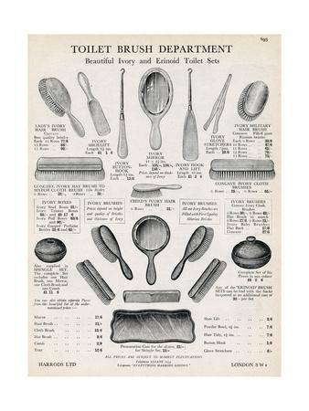 Advert for Hairbrushes