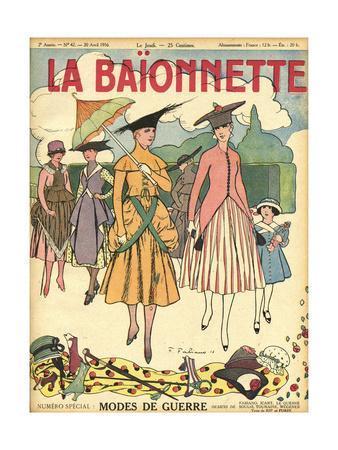 Retro Fashions of 1916