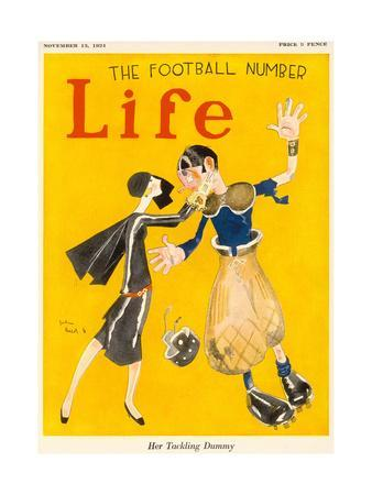 Life, Her Tackling Dummy, 1924