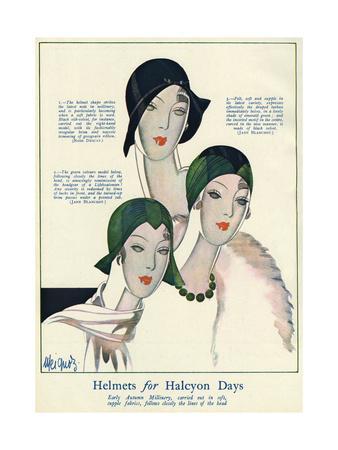 Helmet Hats 1929