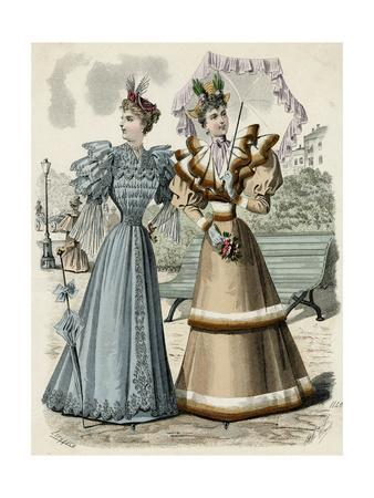 Frilly Fashions 1892