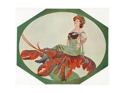 Lady on a Lobster