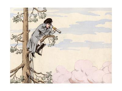 Napoleon Up a Tree