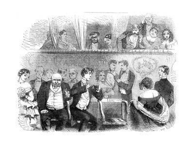 Theatre Going: the Audience, 1858