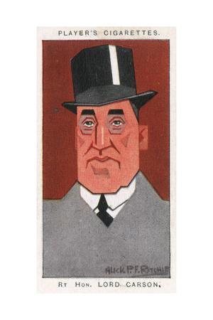 Edward Henry Carson, Baron Carson
