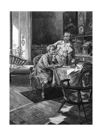 Goethe with Schiller