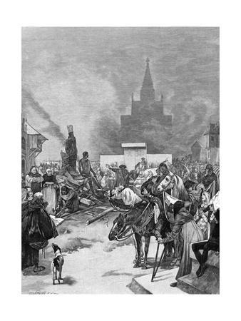 Burning of Hus