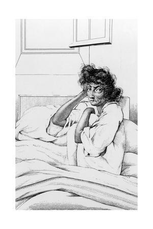Melancholia Patient, Charenton, 1838