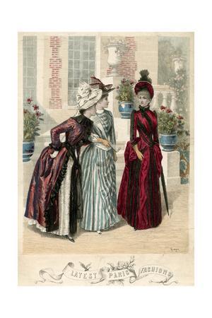 Latest Paris Fashions 1888