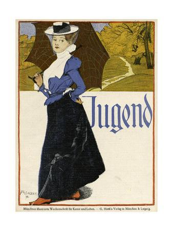 Smartly-Dressed Woman 1898