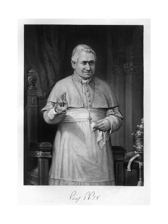 Pius IX, Blessing