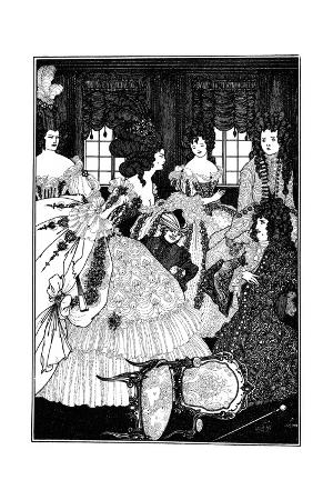 Battle of the Beaux and Belles, Aubrey Beardsley