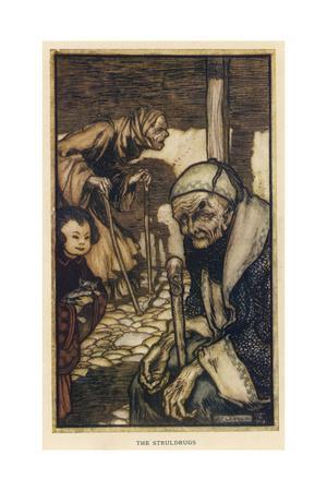 The Struldbrugs, Gulliver