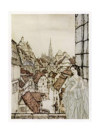 The Lady Ligeia at Her Window