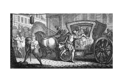 Henri IV Assassinated
