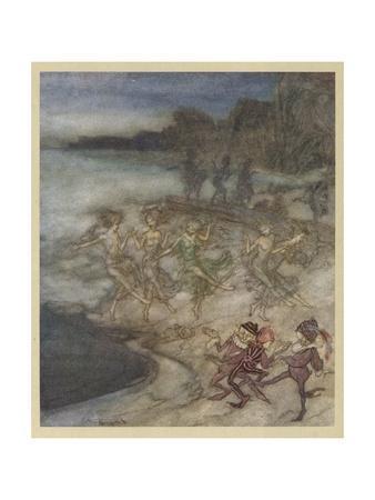 Comus, Milton, Fairies