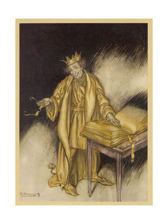 King Midas, Turns to Gold