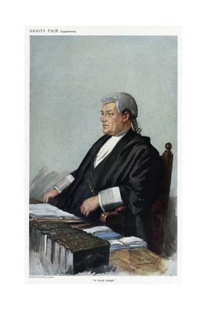 Rt. Hon Sir Harry Trelawney Eve, Vanity Fair