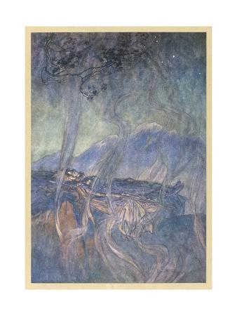 The Sleep of Brunnhilde